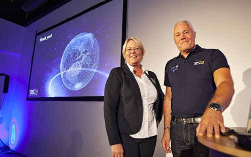 Marie Nilsson, CEO, Sunfab and Per Olof Ohlsson, Sales and Marketing Director at Sunfab